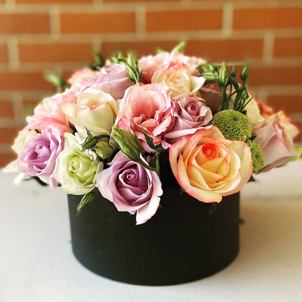Canasta de Flores Variadas Image