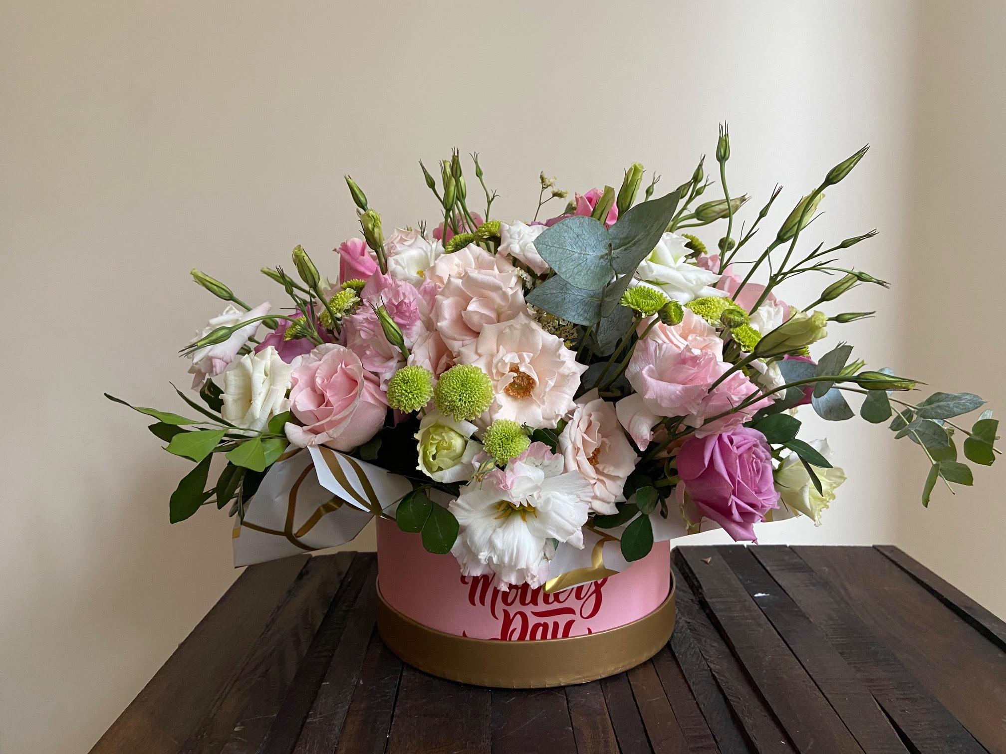 022 Caja de flores variadas Image
